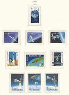 Europa-CEPT - 1991 - Sammlung 6. - Postfrisch - 27 Euro - 1991