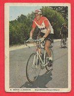 Carte Cycliste N° 9 Martin Van Den BOSSCHE équipe Faema Belgique - Cycling