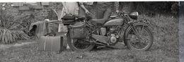 4 Négatifs Photographies Privées Moto MOTOBECANE - Photos