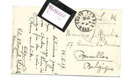 Club Royale Elisabeth/ Cannes  ..Repos Pour Infermières Des Hopitaux Militaires Belges - Weltkrieg 1914-18