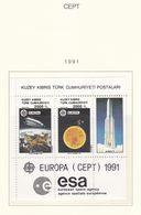 Europa-CEPT - 1991 - Sammlung 11. - Postfrisch - Europa-CEPT