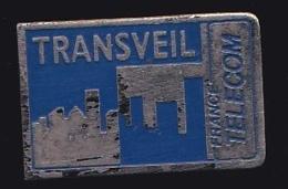 65948- Pin's- France-telecom.Orange.Telephone.Transveil. - France Telecom