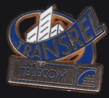 65955- Pin's- France-telecom.Orange.Telephone.Transrel. - France Telecom