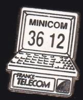 65959- Pin's- France-telecom.Orange.Telephone.Minicom 3612. - France Telecom