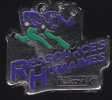 65964- Pin's- France-telecom.Orange.Telephone..Ressources Humaines.signé Tosca. - France Telecom
