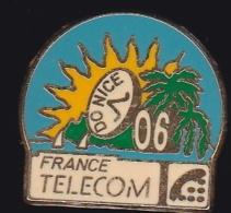 65967- Pin's- France-telecom.Orange.Telephone..DO Nice. - France Telecom