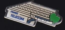 65971- Pin's- France-telecom.Orange.Telephone..signé RIFA 11 1992 - France Telecom