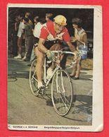 Carte Cycliste N° 11 George Van Den BERGHE Vandenberghe équipe FAEMA Belgique - Radsport