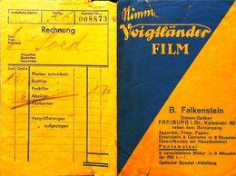 B FALKENSTEIN  Freiburg - Pochette Usée Voigtlander De Photographie Photographe Photo - Matériel & Accessoires