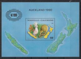 Nouvelle Calédonie - 1990 - Bloc Feuillet BF N°Yv. 10 - Cagou Et Kiwi - Neuf Luxe ** / MNH / Postfrisch - Blocks & Sheetlets