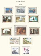Europa-CEPT - Mitläufer - 1991 - Sammlung 2. - Postfrisch - Europa-CEPT
