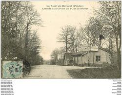 85 LA FORET DE MERVENT. Arrivée à La Grotte De Montfort 1906 . Café Auberge Au Repos Pélerins Bodineau - Fontenay Le Comte