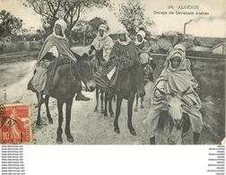 WW ALGERIE. Groupe De Cavaliers Arabes 1908 - Scenes