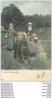 WW BELGIQUE. Laitières Flamandes Avec Attelage Chiens 1905 - Petits Métiers