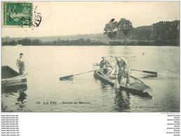 94 SAINT MAUR. La Pie. Pêcheurs Au Filet Et à La Ligne 1907 - Saint Maur Des Fosses