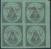 88714 - HONDURAS -  STAMP  -  Yvert # 9   Block Of 4 - MINT MNH - Honduras