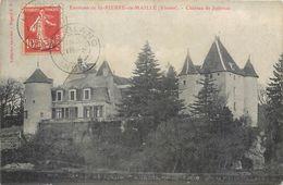 2 CPA 86 Vienne Saint St Pierre De Maillé Chateau De Juttreau Jutreau - Autres Communes