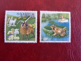 1997   Spring     SG = 731 And 733    ** MNH - Man (Insel)