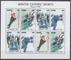 1997Guyana6017-6020KL1998 Olympic Games In Nagano8,00 € - Invierno 1998: Nagano