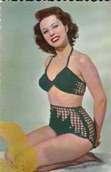 Pin-ups Femme En Bikini Nudité Photochrom Glacée - Pin-Ups