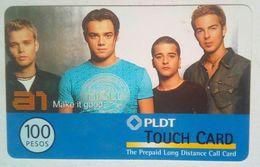 PLDT 100 Pesos A1 Boyband MINT - Philippines