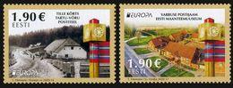 2020 Estonia, Europa, SEPT, Ancient Postal Routes, 2 Stamps,MNH - Autres