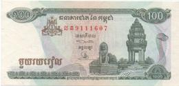 Cambodge Cambodia : 100 Riels 1995 UNC - Cambogia