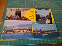 153937 Cartolina Usata Per Concorso Marina Di Nova Siri Minimarket - Matera