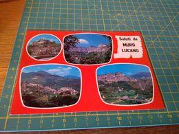 153949 Cartolina Usata Per Concorso Saluti Da Muro Lucano  Potenza - Potenza