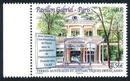 TAAF 2010 - Yv. 571 ** Bdf  Cote= 2,20 EUR - Salon Phil. Au Pavillon Gabriel  ..Réf.TAF21090 - Neufs