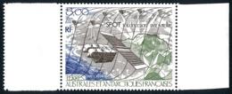 TAAF 1986 - Yv. PA 96 ** SUP Bdf  Faciale= 1,22 EUR - Télédétection Par Satellite SPOT  ..Réf.TAF21080 - Airmail