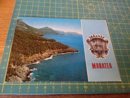 153957 Cartolina Di  Maratea Pz - Potenza