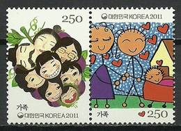 South Korea 2011 Mi 2814-2815 MNH ( ZS9 SKApar2814-2815dav139A ) - Medicina