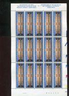 Belgie 1997 2728 F2728 Tervuren Africa Museum MNH Volledig Vel 15 Plaatnummer 2 Velnr 09634 22/8/1997 - Panes