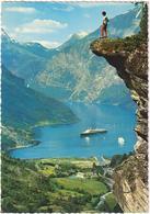 Geiranger Norway - & Boat - Noruega