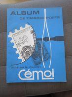 B Album De Timbres Chocolats Cemoi - Unclassified