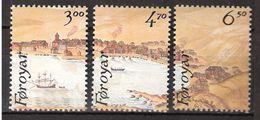 Faroe Islands 1986 From Bloc Stamp Exhibition Hafina '87,  Mi 139-141, MNH(**) - Faroe Islands