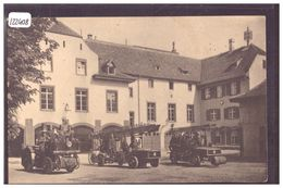 "BASEL - CAMIONS POMPIERS - HAUPTFEUERWACHE "" LÜTZELHOF "" - FEUER VERSICHERUNGS ANSTALTEN AUGUST 1924 - TB - BS Basel-Stadt"