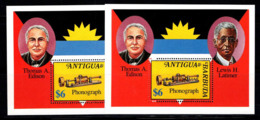 Antigua Et Barbuda 1981-1994 Bloc Feuillet 100% Neuf ** Edison (Latimer) - Antigua & Barbuda (...-1981)
