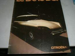 LIBRETTO PUBBLICITARIO CITROEN - Cars