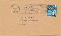 Malta Cover Sent To Sweden Valetta 27-12-1967 Single Franked - Malta
