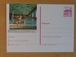 Postal Stationery, Bad Nauheim, Thermal - Hydrotherapy