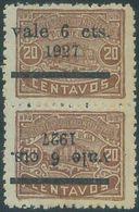 88719 - HONDURAS -  Yvert # 193 + 193a ERROR: Inverted  Overprint -   MINT MNH - Honduras
