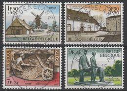 1532/1535 Culturele Musea Oblit/gestp Centrale - Belgium