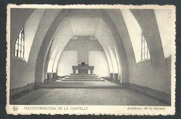+++ CPA - GERPINNES - Transformation De La Chapelle - Prieuré St Augustin - Nels   // - Gerpinnes