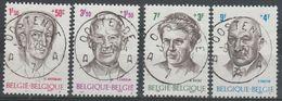 1557/1560 Personnalités/Filantropische Uitgifte Oblit/gestp Centrale - Belgium