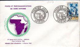 Côte D'ivoire 0204 Fdc CCTA - Côte D'Ivoire (1960-...)