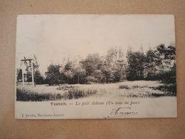 Postkaart Testelt Le Petit Château (Un Coin Du Parc)/Postcard Testelt Le Petit Château (Un Coin Du Parc) - Scherpenheuvel-Zichem