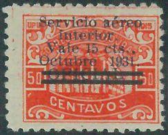 88721 - HONDURAS -  Yvert # PA 39 With Overprint  ERROR -   MINT MH Hinged - Honduras