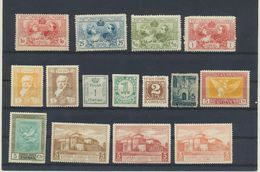 Espagne  Lot De 15 Timbres MH X - Colecciones